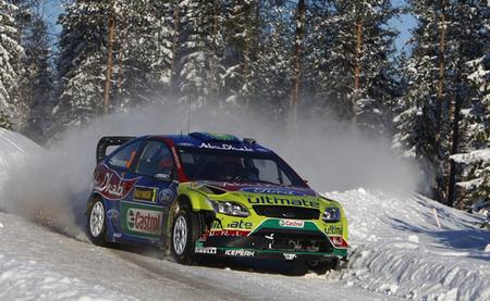 Ford Focus WRC 2010 Suecia - Mikko Hirvonen