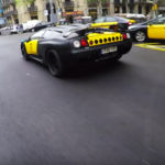 ¿Subirías en un Lamborghini Diablo taxi? Este se ha paseado por Barcelona y esto ha provocado