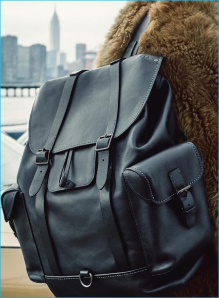 Coach 2016 Fall Winter Mens Campaign Leather Backpack