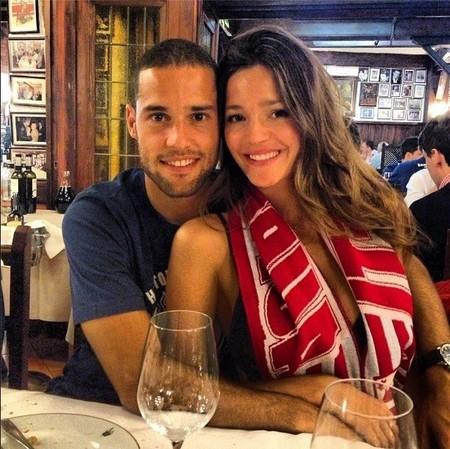 Qué bonito es tener un novio campeón de liga, ¿verdad Malena Costa?