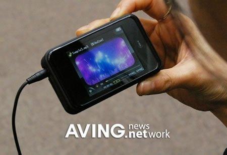 iHolic MP3, con soporte para la televisión
