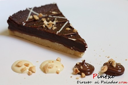 Tarta de chocolate y nutella. Receta