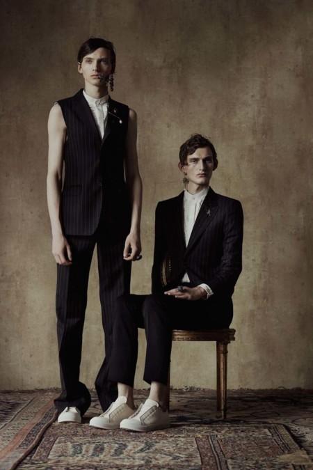 Alexander McQueen revive el espíritu de Savile Row con su colección Spring/Summer 2017