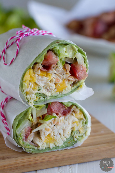 California Club Chicken Wrap Tasteandtellblog Com 1