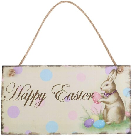 Placa Happy Easter