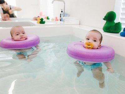 ¿Son seguros los flotadores de cuello para bebés?
