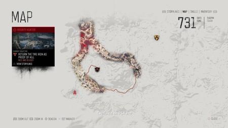 Days Gone Mapa 01