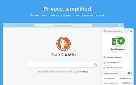 La extensión oficial para navegadores de DuckDuckGo expuso durante meses la privacidad de sus usuarios