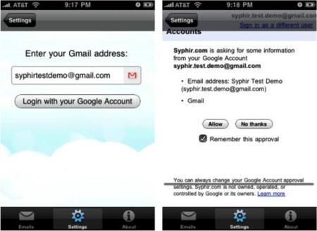 Gmail estrena su propio sistema Oauth