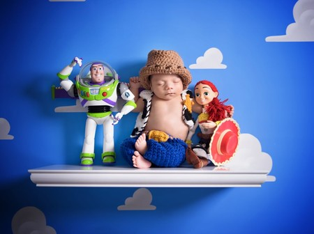 Sesion Fotos Bebe Toy Story