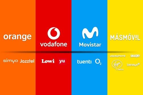 Qué y quienes son los operadores medium y low cost: así son las marcas blancas de Movistar, Vodafone, Orange y MásMóvil
