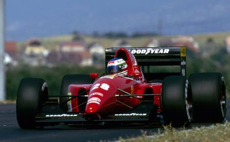 Ivan Capelli Hungaroring 1991 - Ferrari F92A