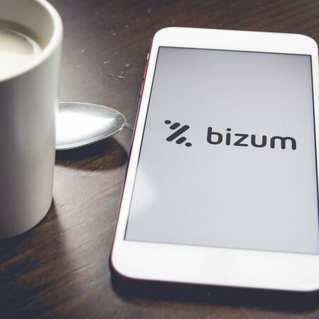 El logo de Bizum en un teléfono móvil