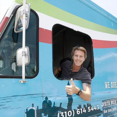 """Así es la food truck del heredero al trono de Italia: """"La pasta es mi prioridad número uno"""""""