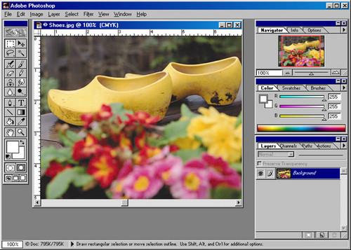 Foto de Evolución de la interfaz de Adobe Photoshop desde 1989 (8/24)