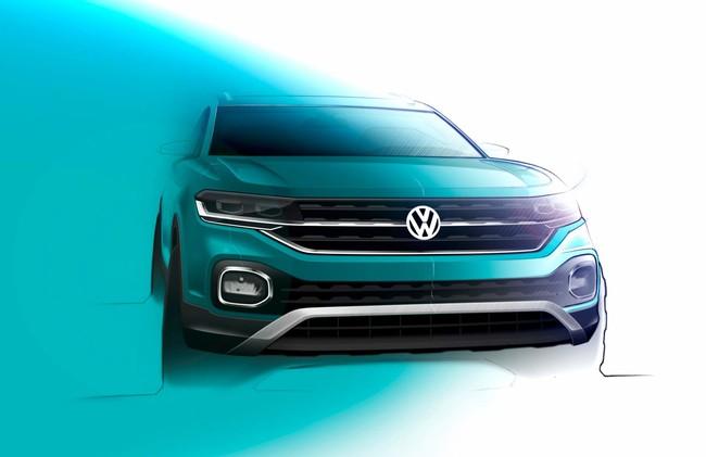 Volkswagen T-Cross 2019 nos revela más de su diseño con un video y 4 nuevas fotos