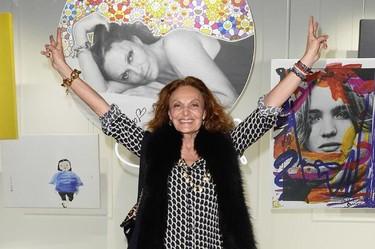Diane Von Furstenberg, una de las más influyentes, estrena memorias rodeada de sinceridad