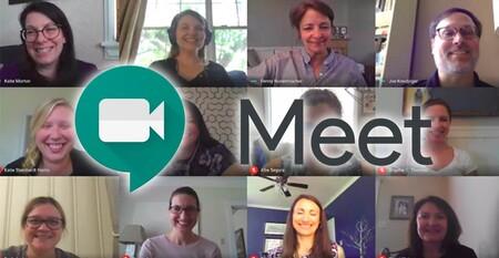 Google Meet expande su 'grid view' a móviles: primero en iOS y en camino para Android