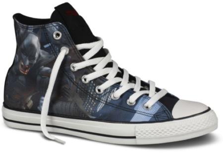 La colección de Converse para 'The Dark Knight Rises': a punto para el estreno