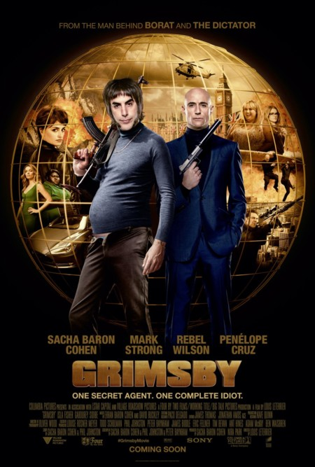 Cartel de Agente Contrainteligente (The Brothers Grimsby)