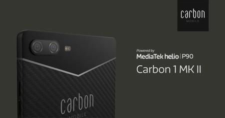 El primer móvil de fibra de carbono es ligero, con cerebro MediaTek y llega este verano