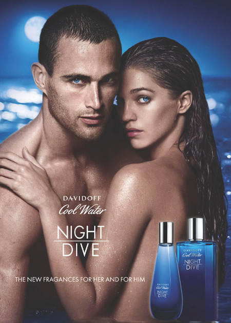 Veronique Nyberg crea Cool Water Night Dive Woman Davidoff, para sirenas que quieran conquistar a Christian Santamaría