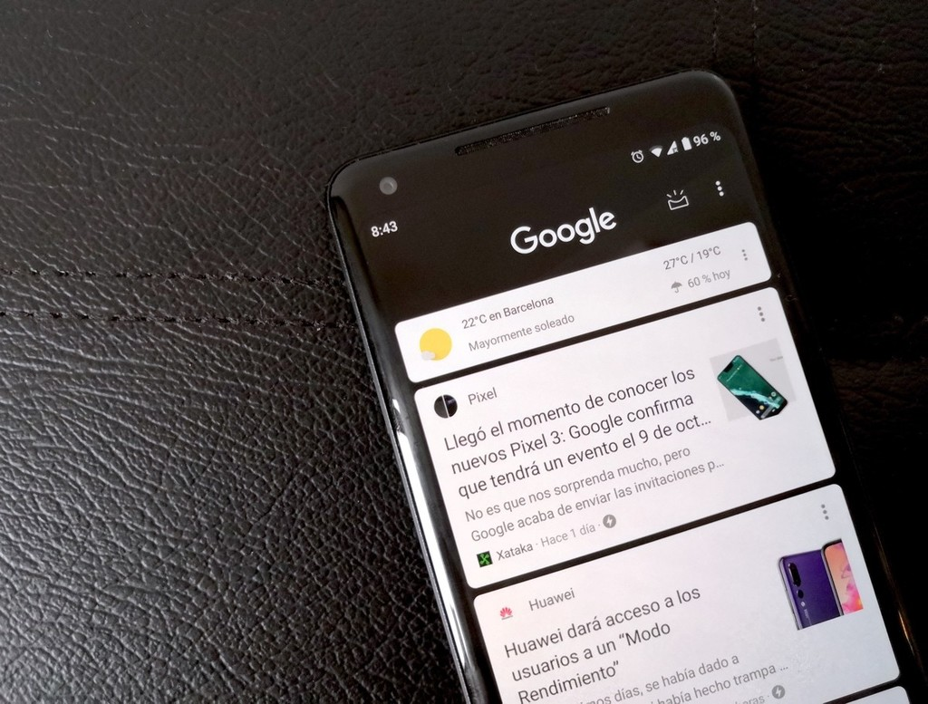 Google demonstrates that the dark theme helps save battery on AMOLED screens