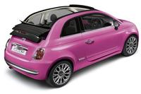 Fiat 500C Pink: ideal