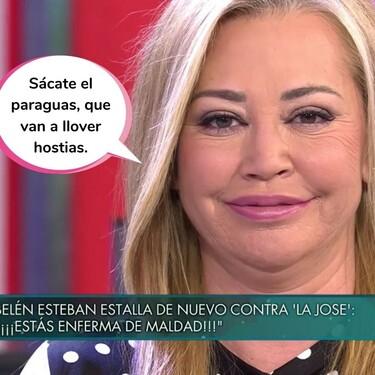 La amenazadora advertencia de Belén Esteban a María José Campanario tras sus declaraciones más explosivas