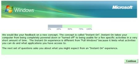¿Arranque instantáneo en Windows 7?