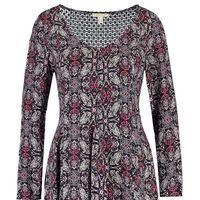 60% de descuento en Zalando: este vestido estampado de  Springfield cuesta sólo 10,79 euros con envío gratis