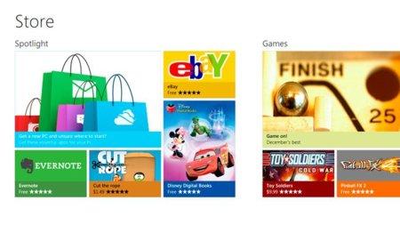 Microsoft desvela su tienda de aplicaciones para Windows 8