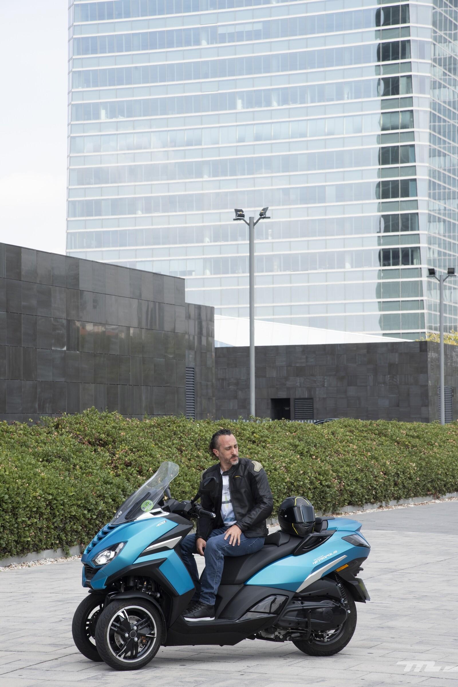 Foto de Peugeot Metropolis 2020, prueba (20/26)