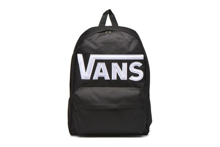 Vuelta al cole: mochila Vans Old Skool Ii Back Black-white por 28,54 euros en Amazon