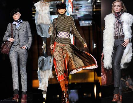 Dolce & Gabbana en la Semana de la Moda de Milán Otoño/Invierno 2008/2009