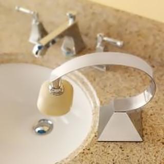 Magnetic Soap Holder, el jabón como suspendido en el aire