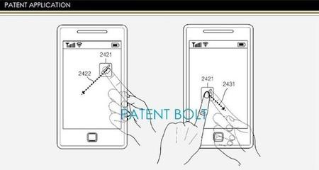Samsung patenta pantallas transparentes con control en la parte trasera
