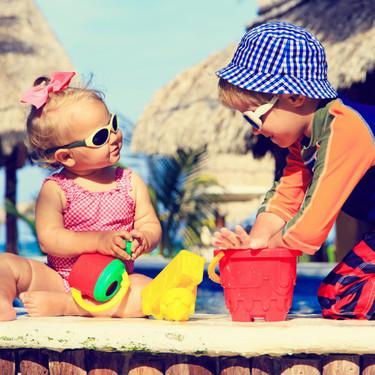 Cómo cuidar los ojos de los niños en verano