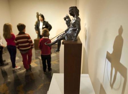 Taller familiar de esculturas para quedarse de piedra en Cartagena
