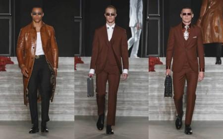 Justin Oshea Brioni Debut Haute Couture Fashion Week Runway Show 3