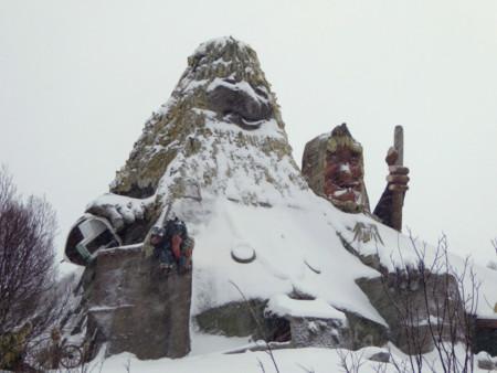 Visitamos al troll más grande del mundo en Senjatrollet