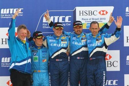 Chevrolet mantiene su trío de pilotos para 2011