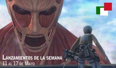 Lanzamientos de la semana en México del 11 al 17 de mayo
