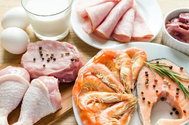 Los alimentos con más proteínas de alto valor biológico ordenados de mayor a menor