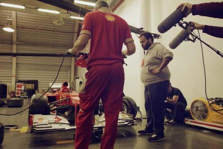 Forza, el homenaje del Santander y Carlos Jean a Ferrari