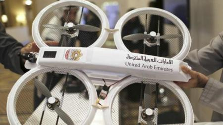Un drone, camino de ser el mensajero que lleve documentación en los EAU