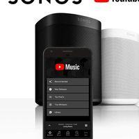 YouTube Music llega a los altavoces conectados de Sonos