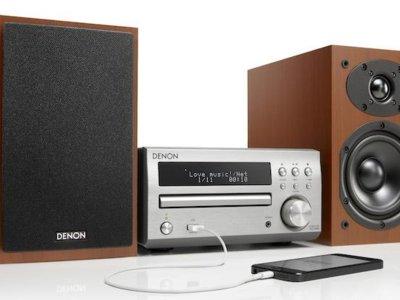 D-M40, la nueva minicadena de Denon para los amantes de los discos compactos