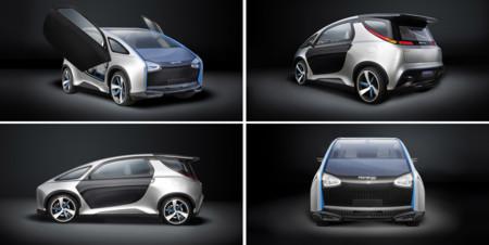 Hanergy Solar Electric Car O