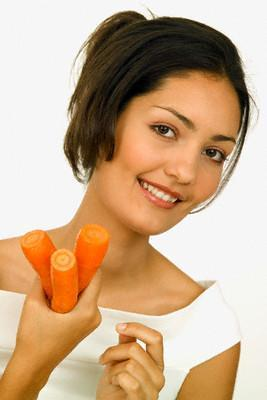 Los beneficios de la zanahoria en la piel